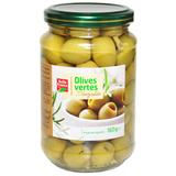 Оливки зеленые натуральные без косточек Bell France  354 г