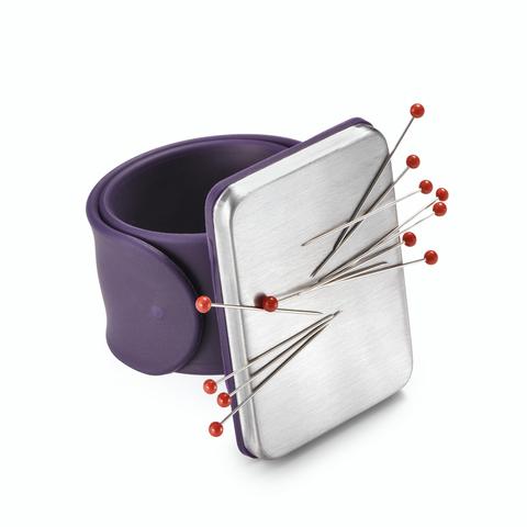 Игольница на руку магнитная Prym Love, фиолетовая (арт 610282)