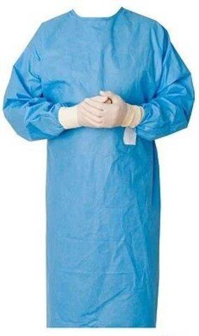 Одноразовый халат медицинский нестерильный, размер XL
