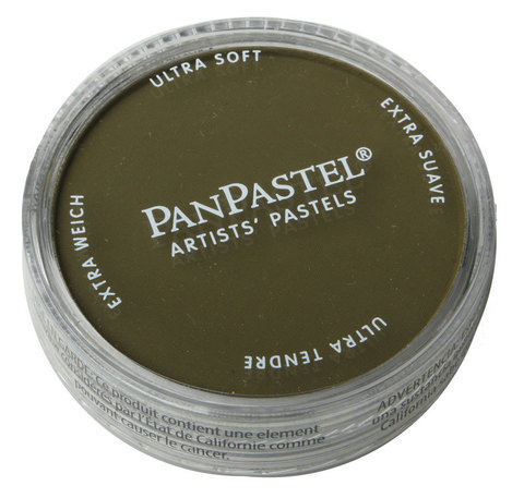 Ультрамягкая пастель PanPastel / Yellow Ochre Extra Dark
