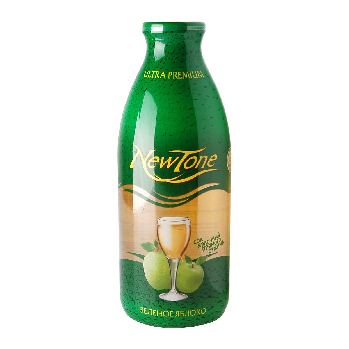 Сок Зелёное Яблоко NewTone 750 мл