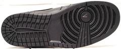 Зимние мужские ботинки кеды на толстой подошве Nike Air Jordan 1 Retro High Winter BV3802-945 All Black