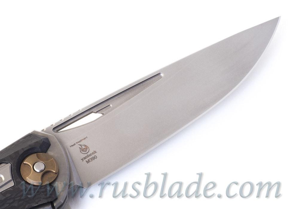 Svarn II cutout mode knife Serial by CultroTech - фотография