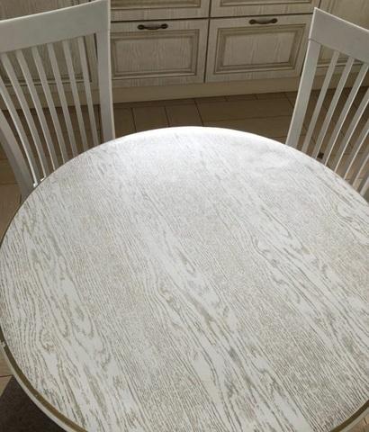 Скатерть круглая матовая 106 см