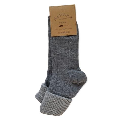 Носки 100% шерсть, серый, Италия