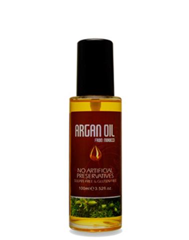 Масло арганы для волос, Argan Oil from Morocco Nuspa, 100мл