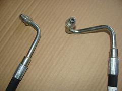 шланг  высокого давления ГУРа  УАЗ 3163 Делфи (штуцер-штуцер 750 мм)