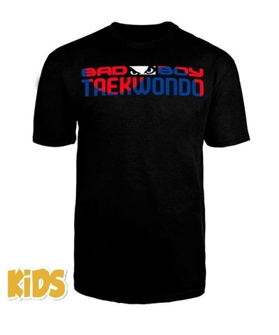 Футболка детская Bad Boy Taekwondo Discipline Youth Tshirt Black&