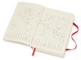 Ежедневник Moleskine Classic Soft Daily Pocket 90x140 мм (DSF212DC2)