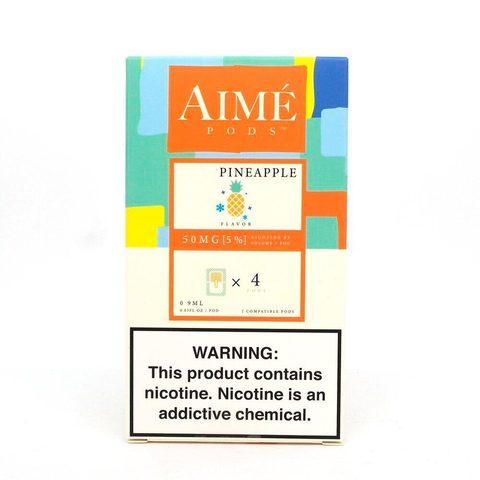 Сменный Картридж для JUUL Aimé Pods - Ананас х4, 50 мг