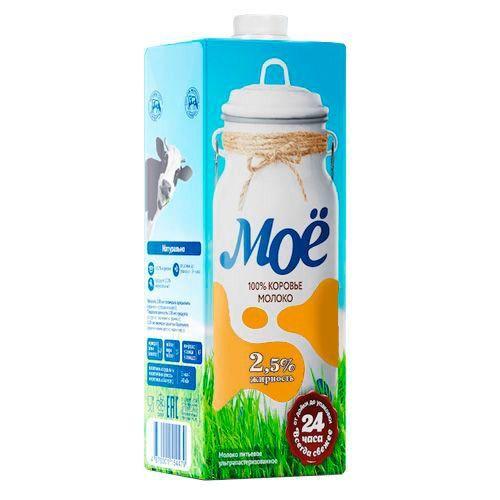Молоко ультрапастеризованное