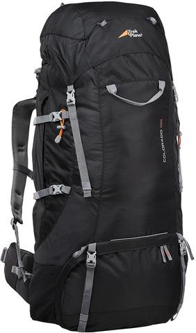 Картинка рюкзак туристический Trek Planet Colorado 100 черный - 1