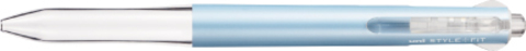 Мультиручка Uni Style Fit 4 Pastel Blue
