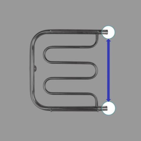 Полотенцесушитель водяной Energy VEGA 500x500