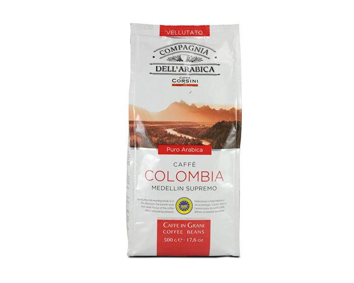 Кофе в зернах Compagnia Dell`Arabica Colombia Medellin Supremo, 500 г (Компания Дель Арабика)