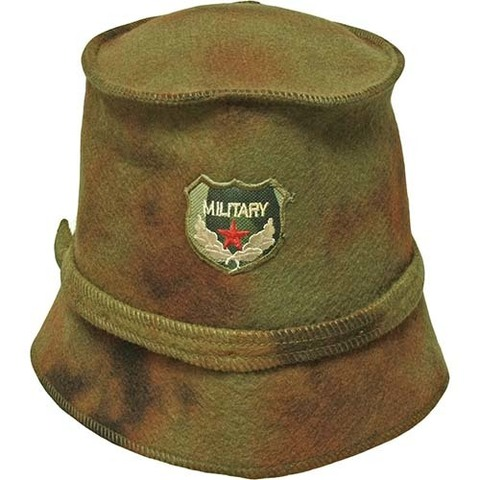 Фетровая шапка Милитари