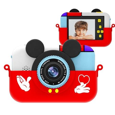 Фотоаппарат детский SmileZoom Микки Красный 28 Мп