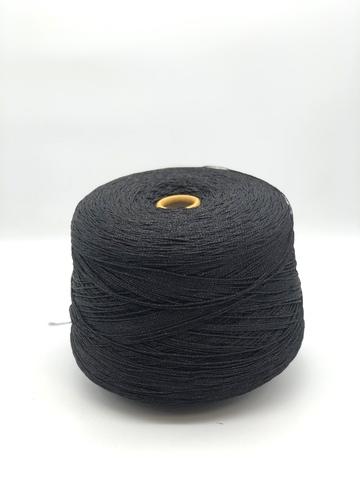 Вискоза  с люрексом MONTMARTNE черный шнурок