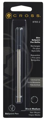 Cross Стержень шариковый для ручки Click, M, черный123