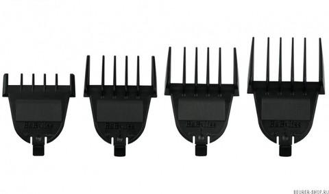 Машинка для стрижки окантовочная BaByliss Pro, аккум-сетевая, 0,5 мм, 4 насадки