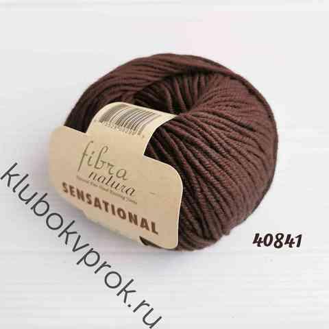 FIBRA NATURA SENSATIONAL 40841, Темный коричневый