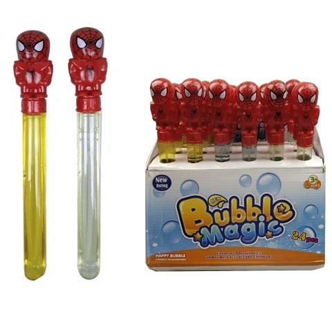 Мыльные пузыри Человек Паук 1кор*1бл*24шт