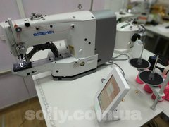 Фото: Закрепочная промышленная швейная машина с сенсорным управлением  Gemsy GEM 1900 Е-JS