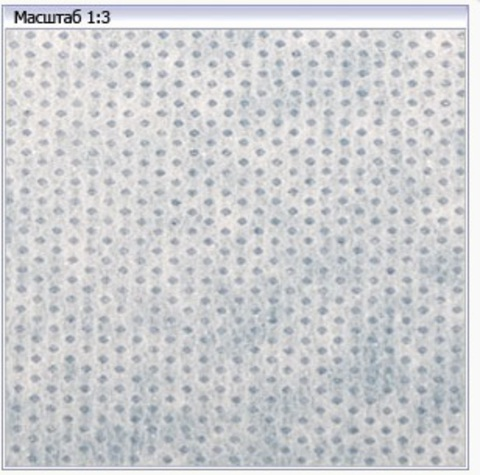 Флизелин точечный белый клеевой 40 г/м (90х90см)