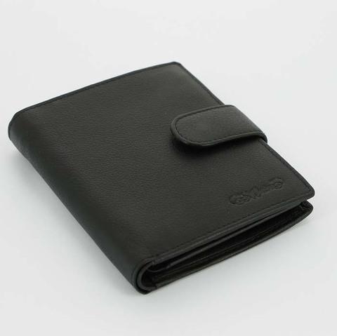 Портмоне  S.Quire  4900-BK Soft черный наппа
