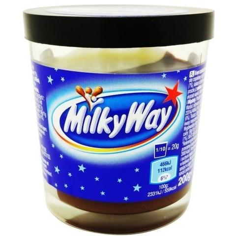 Шоколадная паста Milky Way 200 гр
