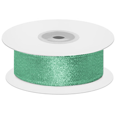 Мерцающий блеск, Зеленая бирюза, Металлик, 2,5 см*22,85 м, 1 шт.