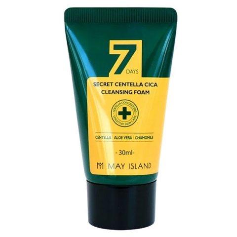 MAY ISLAND 7 Days Пенка для проблемной кожи с экстрактом центеллы  Secret Centella Cica Cleansing Foam 30 мл