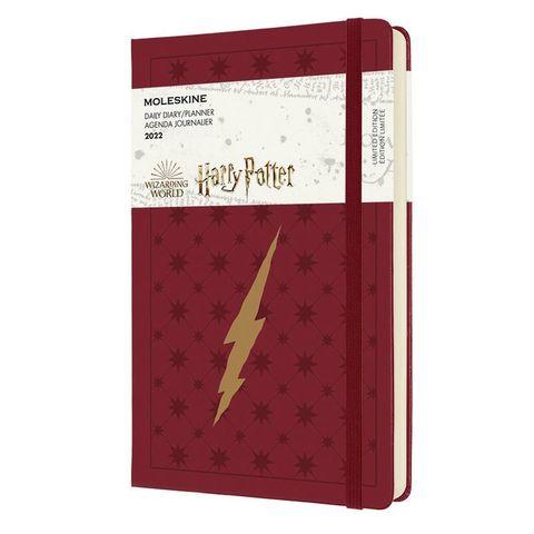Ежедневник Moleskine (DHP12DC3Y22) LE Harry Potter Large 130х210мм 400стр. бордовый