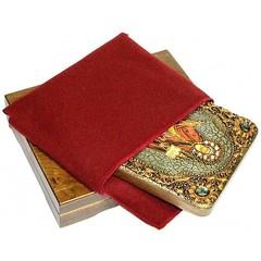 Инкрустированная икона Святой благоверный князь Даниил Московский 20х15см на натуральном дереве, в подарочной коробке