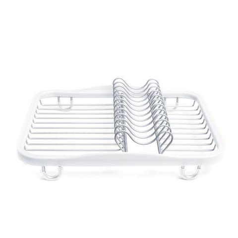 Сушилка для посуды Sinkin, белая/никель