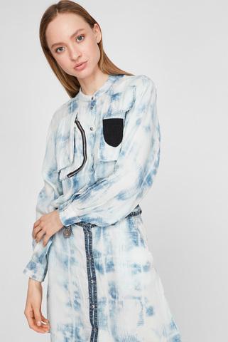 Женское голубое платье D-NOEMI Diesel