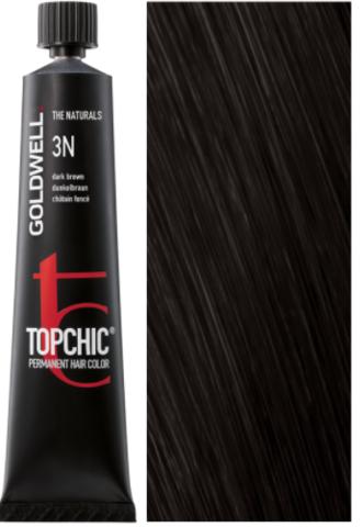 Goldwell Topchic 3N темно-коричневый TC 60ml