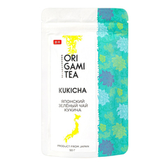Японский зеленый чай Origami Tea Кукича 50 гр