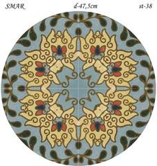 Эскиз для росписи, Круг диаметр-47,5см, SMAR-st-38
