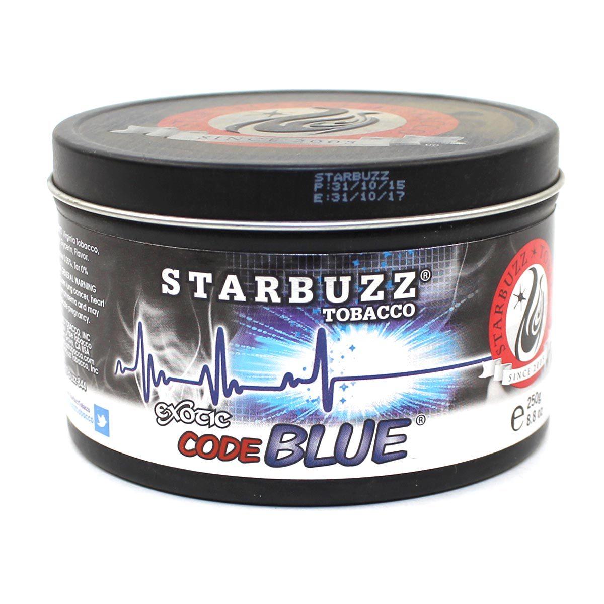 Табак для кальяна Starbuzz Code Blue 250 гр.