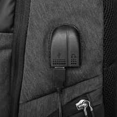 Рюкзак повседневный для ноутбука 15,6 KAKA 2215-10 чёрный