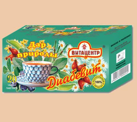 Чайн нап Витацентр Диабевит 20 ф/п х 1,5г