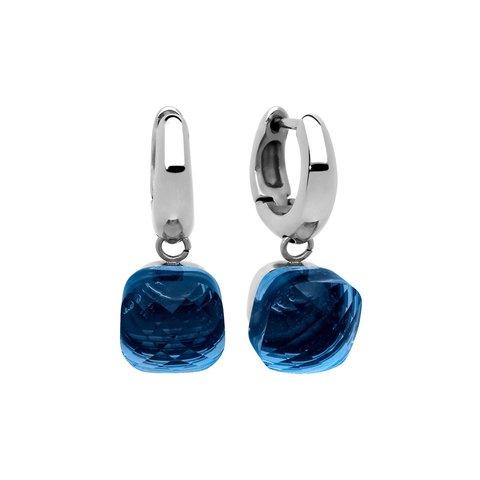 Серьги Firenze dark blue 300195 BL/S