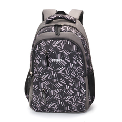 Рюкзак Torber Class X 15,6'', серый с орнаментом, 45x30x18 см, 17 л