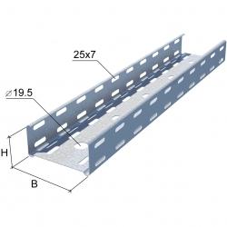 Лоток перфорированный «Стандарт» длина 3 метра