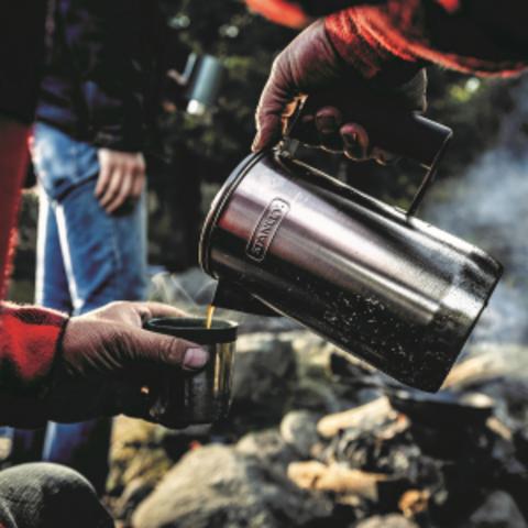 Кофейник Stanley Adventure (1 литр), стальной
