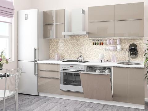Кухня Фьюжн-2 белый, cappuccino