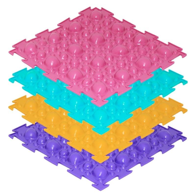 Модульный массажный коврик ОРТО «Камни», мягкие