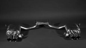 Выхлопная система Capristo для Maserati Quattroporte