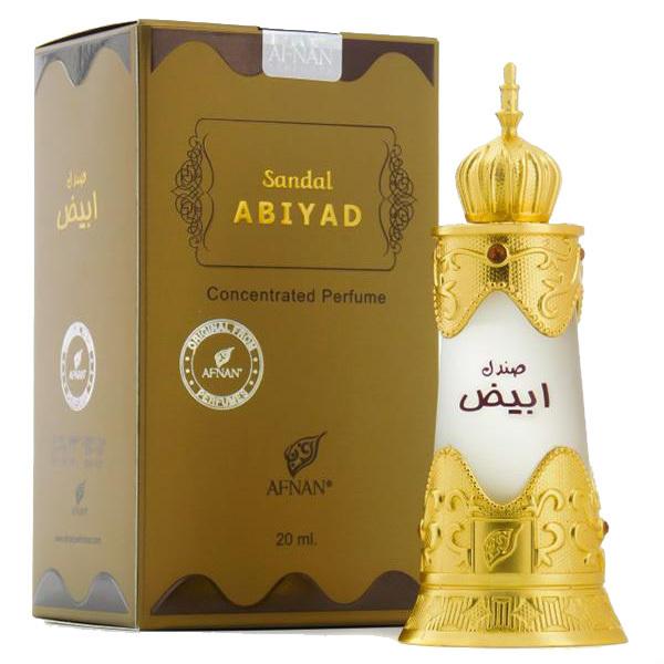 Пробник для Sandal Abiyad Сандал Абияд 1 мл арабские масляные духи от Афнан Парфюм Afnan Perfumes